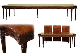 dining room table seats 12 french style neoclassical 8 leg dining table seats 12 to 14