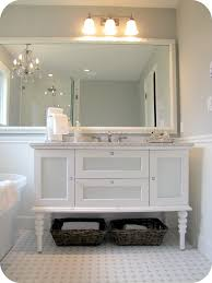 48 inch white bathroom vanity with carrera marble top home