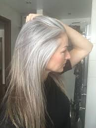 why have i gor grey hair in my 30s grey is the new blonde morning reflection on my natural hair