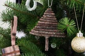 Easy Christmas Tree Decorations Twig Tree Ornament Easy Christmas Diy