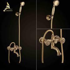 Online Get Cheap German Faucet Aliexpress Com Alibaba Group Bathtub Faucets Antique Brass Bath Rain Shower Faucet Head And