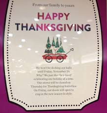 nordstrom closed on thanksgiving to celebrate one at a