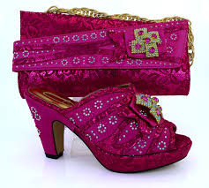 wedding shoes and bags wedding shoes aliexpress buy new fuchsia color italian