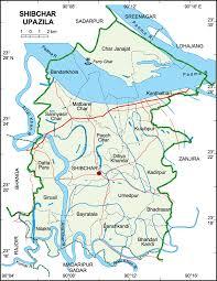 Map Of Bangladesh Maps Of Bangladesh Shibchar Upazila
