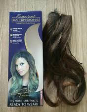 as seen on tv hair extensions secret extensions by open damaged boxes 01