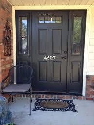 Front Door Painted by Paint Your Front Door Numbers The Right Way U2014 Beckwith U0027s Treasures