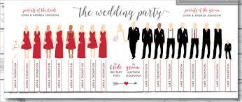 wedding party program template 8 wedding party program templates psd vector eps ai
