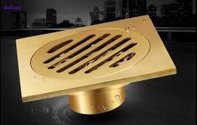 Bathroom Water Outlet Online Get Cheap Bathroom Floor Drains Copper Aliexpress Com