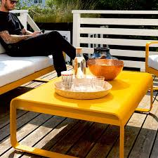 bellevie low coffee table by fermob yliving