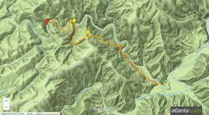 Crime Map Atlanta by Panther Creek Trail Yonah Dam To Panther Creek Falls