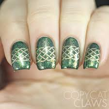 copycat claws st patrick u0027s day nail stamping with superficially