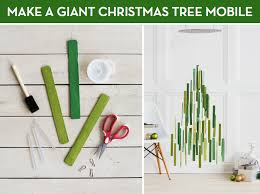 how to make a stylish hanging tree mobile curbly