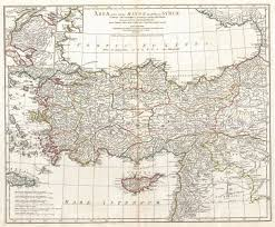 Map Of Turkey And Syria by File 1794 J B B D U0027anville Map Of Asia Minor In Antiquity