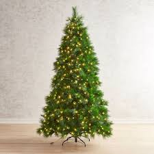 pre lit artificial christmas trees pier 1 imports