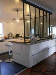 prix verriere interieure cuisine cuisine ouverte daclimitace par une verriare ou un arlot bar cuisine