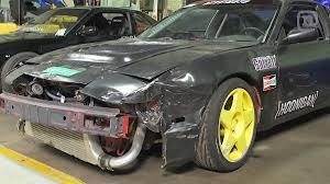 nissan 370z drift car video forsberg u0026 tuerck u0027s 370z and 240sx drift builds revved