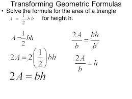 2 6 formulas a literal equation u2013 an equation involving two or
