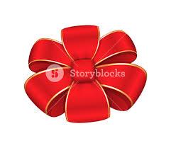 decorative ribbon bow vector design royalty free stock image