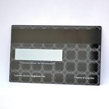 luxury design black metal business cards