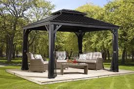 Patio Gazebo Ideas 34 Metal Gazebo Ideas To Enhance Your Yard And Garden With Style