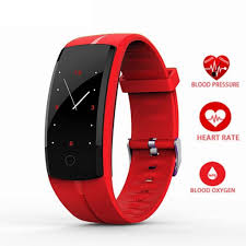 heart rate monitoring bracelet images Qs100 smart bracelet ip67 waterproof blood pressure heart rate jpg