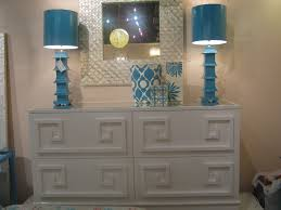 Blue Table Lamp Furniture Enchanting White Side Board Worlds Away Furniture With