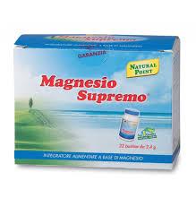 magnesio supremo composizione magnesio supremo point 32 bustine naturasì il