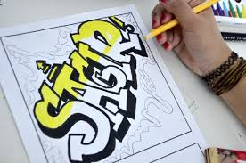 Name Style Design by Name In Graffiti Style