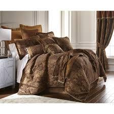 Cal King Bedding Sets Sherry China Brown Cal King Size 6 Comforter Set
