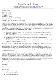 writing a cover letter to human resources 17 resume for hr manager
