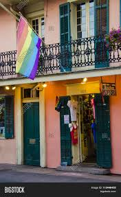 Bourbon Street New Orleans Map by Bourbon Pride Shop In The French Quarter On Bourbon Street Of New