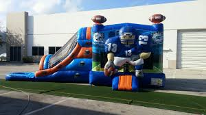 combo units wet bounce house water slide and party rentals