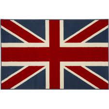 Blue Union Jack Cushion Union Jack Tapestry Cushion