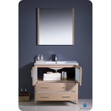Oak Bathroom Cabinets Fresca Torino 30