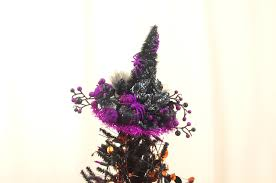 witch hat tree topper halloween tree topper halloween decor