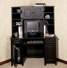 Computer Desk With Cabinets Marvelous Desk With Computer Storage Stunning Home Decor Ideas