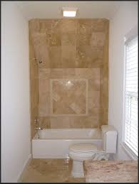 Design Ideas For Small Bathroom With Shower Interior Amazing Small Bathroom With Cream Marble Tile Wall With