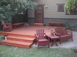 Decks With Benches Built In Craftsman Style Redwood Built In Deck Benches By Gizmodyne