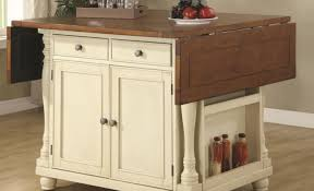 memorable home styles distressed oak drop leaf kitchen island in