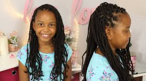 detangling marley hair back to school collab box braids using marley hair youtube