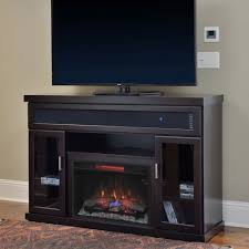 tenor infrared electric fireplace entertainment center in espresso
