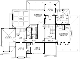 upstairs floor plans back staircase for upstairs 23201jd architectural