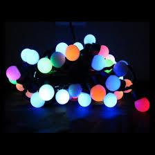 led ball string lights color christmas ball string lights