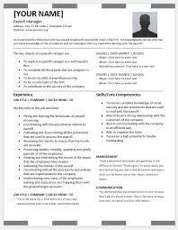 payroll manager resume payroll manager resumes for ms word resume templates