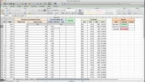 Mileage Spreadsheet How To Calculate Fuel Consumption By Using Microsoft Excel Youtube