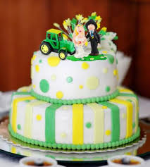 deere cake toppers deere wedding cakes lovetoknow