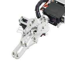 aluminium robot 6 dof arm mechanical robotic arm clamp claw mount
