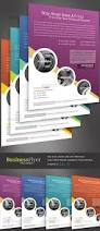 business flyer template with 4 color schemes by kinzi21 graphicriver