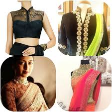 blouse band 7 blouse necklines designs 2018 to wear with your sarees