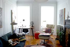 Eames Chair Living Room Endearing Real Vs The Eames Lounge Manhattan Nest At Chair